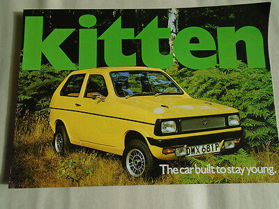 Reliant Kitten brochure Sep 1975