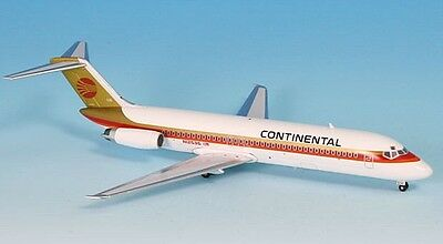 Inflight 200 IF932002 Continental DC-9-32 N12536 Red Meatball Diecast Jet Model