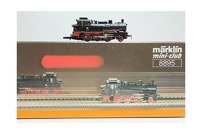 Z 1:220 Märklin 8895 steam locomotive 74 701 DB Mini Club luces