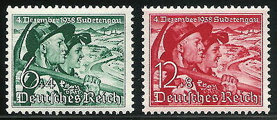 Germany Third Reich 1938 Annexation of the Sudetenland Complete Set VF MNH!