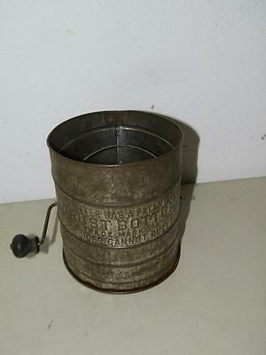 Vintage No Rust Flour Sifter Single Screen 14791