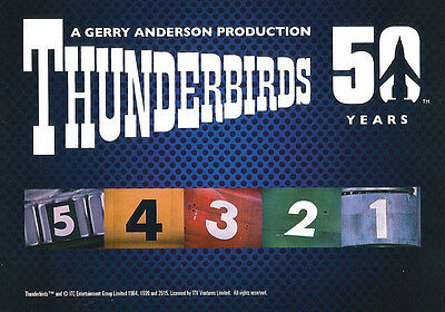 Thunderbirds 50 Years ~ COMPLETE 54-CARD BASE SET