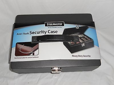 MMF Industries™ STEELMASTER® Anti-Theft Security Cable Cash Box