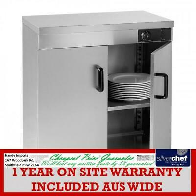 Fed Commercial Plate Double Warmer Cabinet Bench Storage Stainless Steel Pw-D