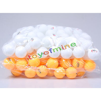50Table Tennis Ping Pong Ball Toy Play Set Box Sports Party Bingo Game Pet