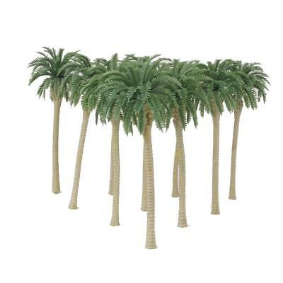 20pcs Coconut Palm Tree Model Train Rainforest Diorama Scenery 1:150 N Scale