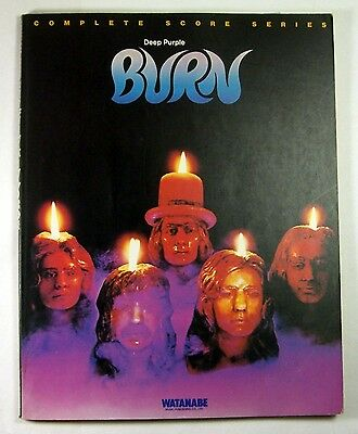 "Deep Purple ""burn"" Band Score Japan Guitar Tab"