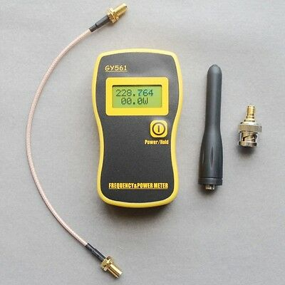 New GY561 Portable Frequency Counter Tester RF + Power Meter for Two-Way Radio