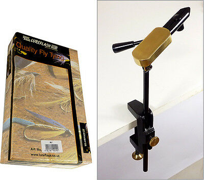 REGENT RV Lever Action 'Pro' Fly Tying / Dressing Vice for Fly Fishing (71496)