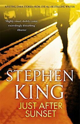 Just After Sunset, King, Stephen, New condition, Book