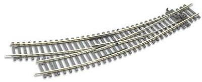 Peco ST-244 Setrack Curved Right Hand Point OO/HO Gauge