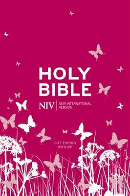 NIV Tiny Pink Soft-Tone Bible with Zip by International Version New - NEW