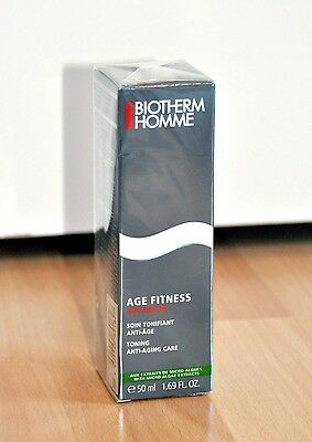 Biotherm Homme Age Fitness Advanced Soin Tonifiant Gesichtscreme Creme 50 ml
