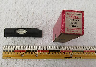 Starrett 3 3/8 inch 130 Bench Level 50560