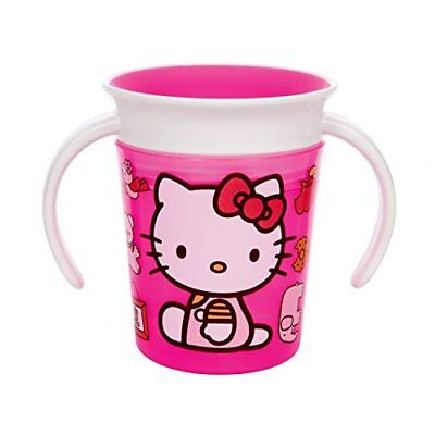 Munchkin Hello Kitty Miracle 360 Trainer Cup, 6 Ounce New
