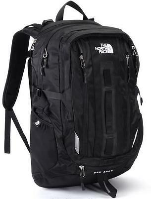 New With Tags The North Face Box Shot Backpack Laptop Approved Black