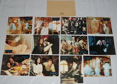 CASPER Christina Ricci Bill Pullman Moriarty Eric Idle 12 FRENCH LOBBY CARDs
