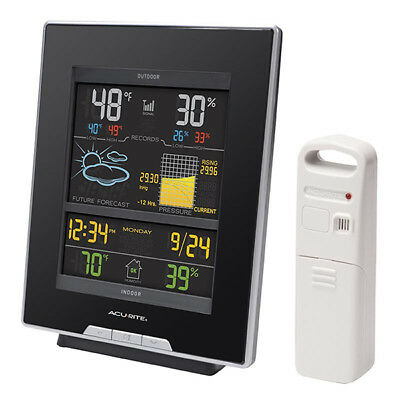 AcuRite 02008A1 Color Weather Station (Dark Theme)