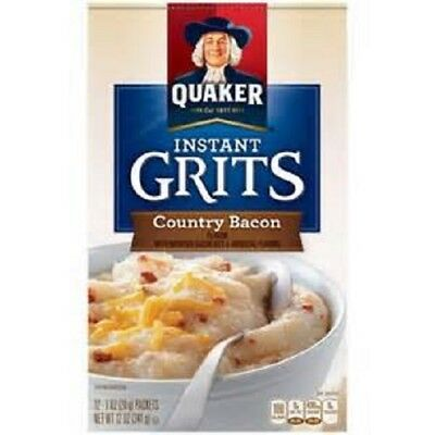 Quaker Country Bacon Instant Grits