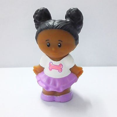 Brilliant Fisher Price Little People Figure African American Black Figures Short Hairstyles Gunalazisus