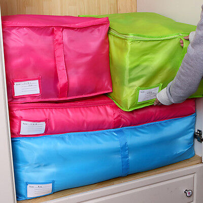 Foldable Storage Bag Clothes Sweater Blanket Quilt Closet Sweater Organizer Box