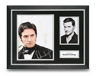Richard Armitage Signed Photo Framed 16x12 North & South Autograph Display + COA