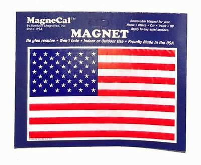 """Large Patriotic American Flag Rectangle Magnet - 8.25"""" x 5.5"""" - Made in the USA!"""