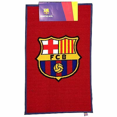 Fc Barcelona Floor Rug Mat New Football 100% Official