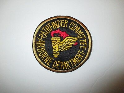b3940 US Army Airborne Pathfinder Committee Dept Ft Benning GA School IR38A