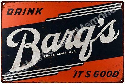 Drink Barq's Reproduction 12 x 18 Metal Sign 2181312