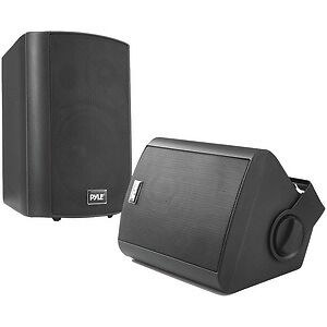 "PYLE HOME PDWR52BTBK 5.25"" Indoor/Outdoor Wall-Mount Bluetooth(R) Speaker Sys..."