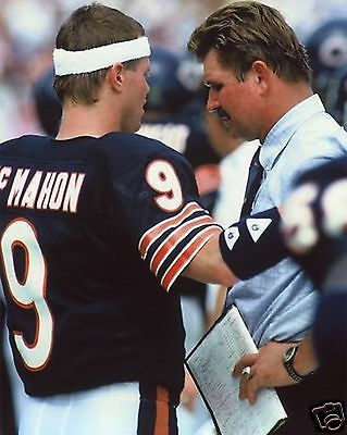 7a2840ed6a3 JIM MCMAHON-MIKE DITKA Chicago Bears 8X10 Sports Photo (Xl) - $3.25 ...
