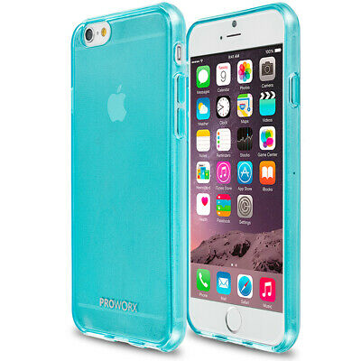 Apple iPhone 6 6S 4.7 PROWORX Premium TPU Rubber Case Cover Mint Green