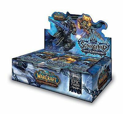 World of Warcraft TCG ~ Scourgewar Icecrown Booster Box ~ New & Sealed