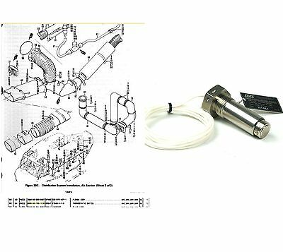EDEL 21548-4-1-6 Bell UH-1 Helicopter Distribution Sys.Thermostatic Switch Probe