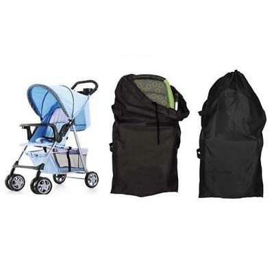 Gate Check Pram Travel Bag for Stander and Double Stroller Waterproof Cover