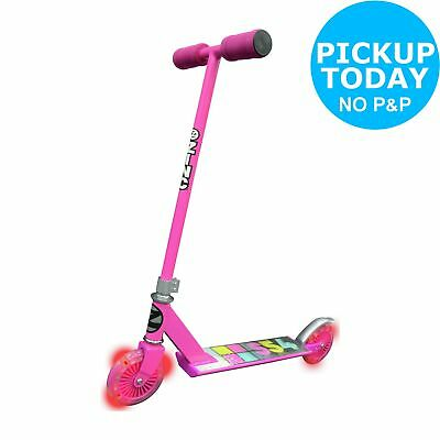 Zinc Non Folding Light Up Scooter - Girls. From the Official Argos Shop on ebay