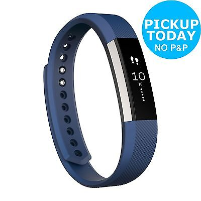 Fitbit Alta Activity and Sleep Small Wristband - Blue :The Official Argos Store