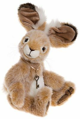 New **COLLECTABLE HANDMADE FULLY JOINTED CHARLIE BEAR ~ ROSCOE** 31cm