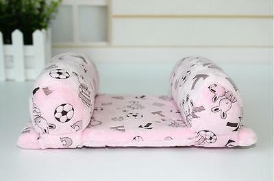 Pink Infant Newborn Toddler Baby Soft Head Support Cushion Cotton Pillow
