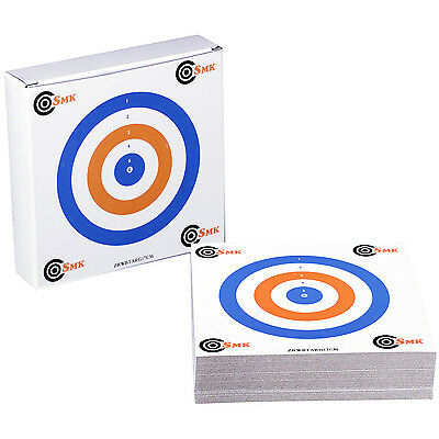 THICK CARD 17cm Airgun Air Rifle Pistol Targets Hunting Practice Shooting 100