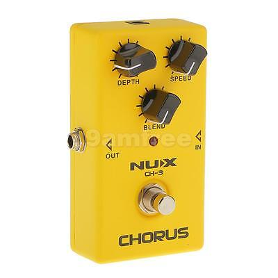 CH-3 Chorus Guitars Effect Pedal True Bypass Low Noise BBD in Delay Circuit