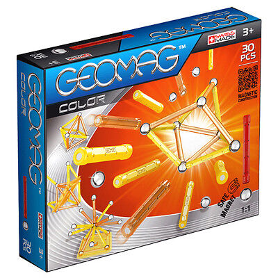 New Geomag Color Magnetic Construction Set - 30 Pieces