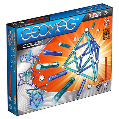 New Geomag Color Magnetic Construction Set - 40 Pieces