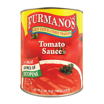 Furmano's #10 Can Tomato Sauce 6lb can