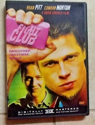 fight club dvd  FIGHT CLUB (DVD, 2002, Single Disc; Sensormatic) - $5.99 | PicClick