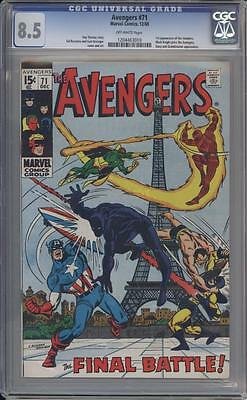 AVENGERS 71 - CGC 8.5 - First Invaders - Marvel Comics