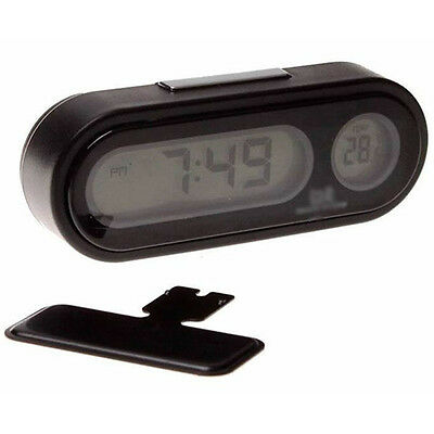 Hot Car Clock Auto Vehicle Mini Backlight Thermometer Clock Time Car Tool