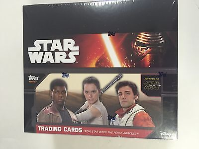 2015 Topps Star Wars  The Force Awakens Retail Box