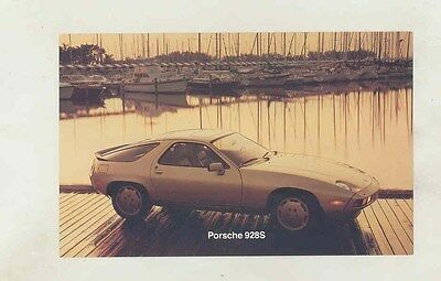 1983 Porsche 928S US Large Postcard ww2727
